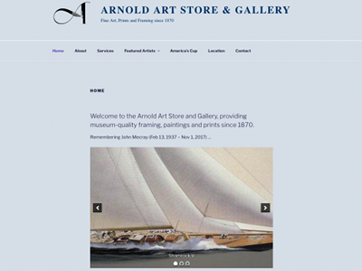 Go to Arnold Art Store
