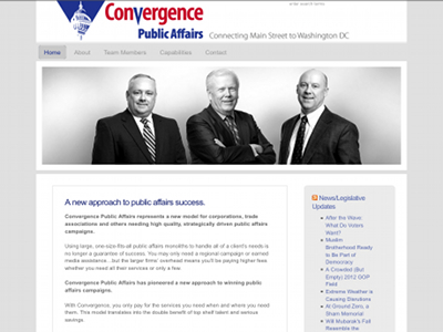 Go to Convergence Public Affairs