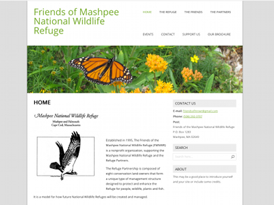 Go to Friends of the Mashpee National Wildlife Refuge (FMNWR)