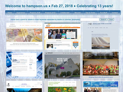 Go to hampson.us Web Development