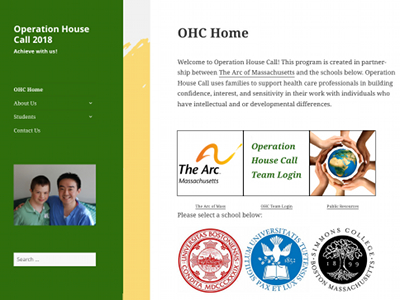 Go to Operation House Call (OHC)